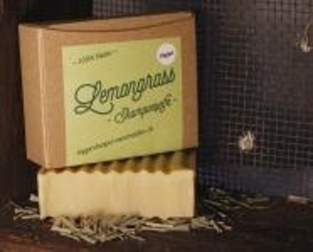 Lemongrass Shampooseife - Vegan