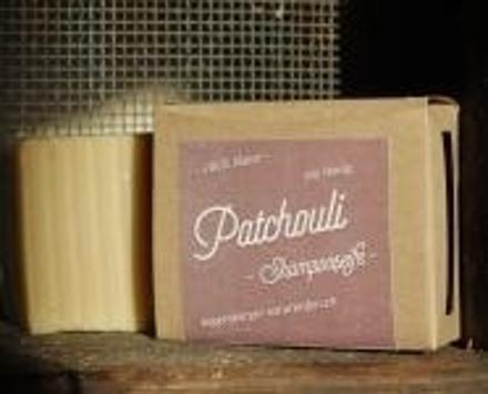 Patchouli Shampooseife - Mit Honig