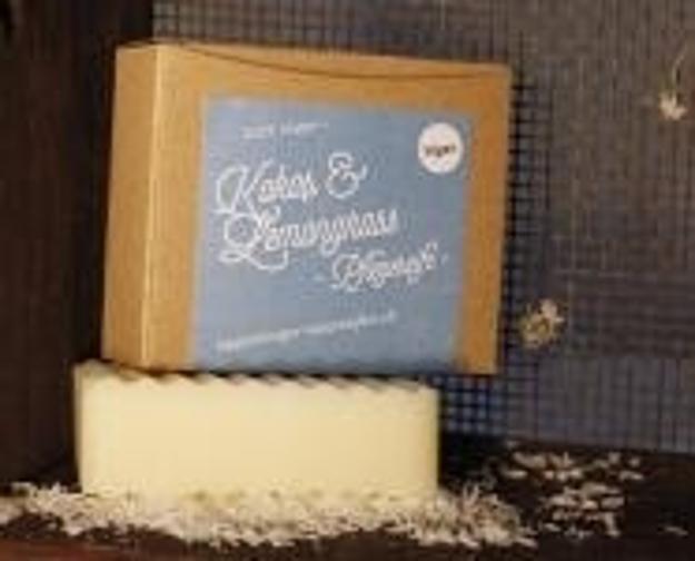 Kokos & Lemongrass Pflegeseife - Vegan