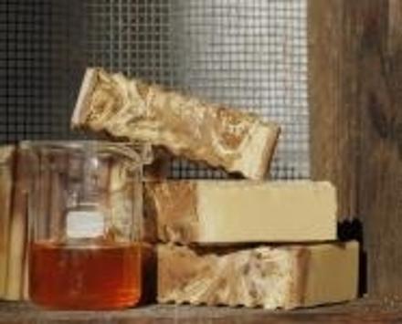 Honig-Milch Pflegeseife - Mit Schafmilch