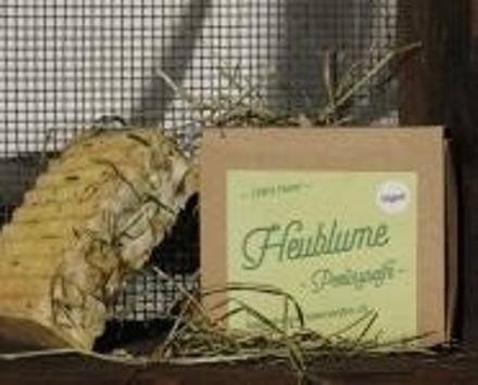 Heublueme Peelingseife - Vegan