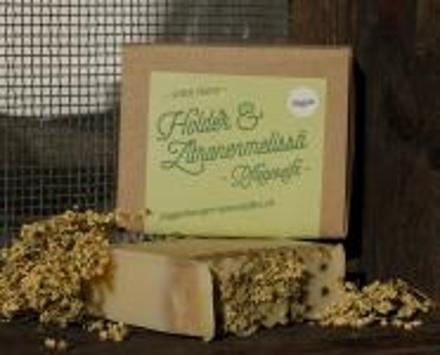 Holder & Zitronenmelissä Pflegeseife - Vegan