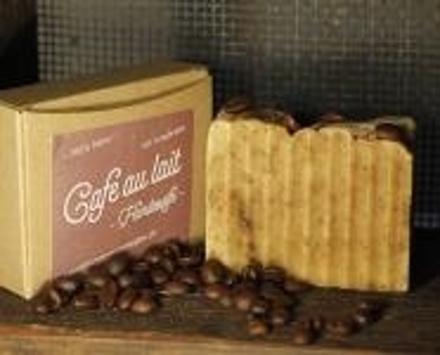 Cafe au lait Handseife - Mit Schafmilch
