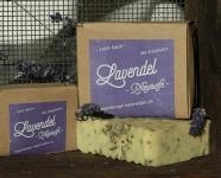 Lavendel Pflegeseife - Mit Schafmilch