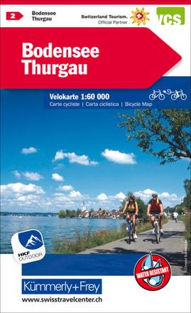 Bild zu Bodensee Thurgau Nr. 02 Velokarte 1:60 000. 1:60'000 von Hallwag Kümmerly+Frey AG (Hrsg.)