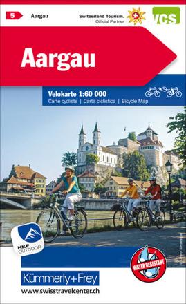 Bild zu Aargau Nr. 05 Velokarte 1:60 000. 1:60'000 von Hallwag Kümmerly+Frey AG (Hrsg.)