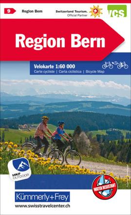 Bild zu Region Bern, Nr. 09 Velokarte 1:60 000. 1:60'000 von Hallwag Kümmerly+Frey AG (Hrsg.)