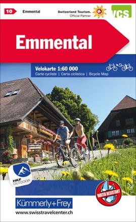 Bild zu Emmental Nr. 10 Velokarte 1:60 000. 1:60'000 von Hallwag Kümmerly+Frey AG (Hrsg.)
