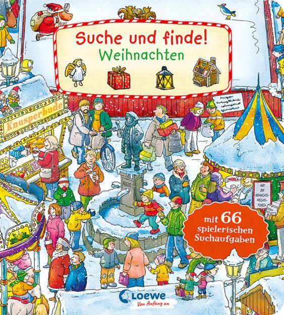 Bild zu Suche und finde! - Weihnachten von Loewe Meine allerersten Bücher (Hrsg.)