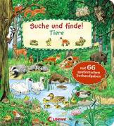 Bild zu Suche und finde! - Tiere von Loewe Meine allerersten Bücher (Hrsg.)