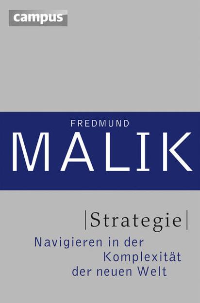 Bild zu Strategie von Malik, Fredmund