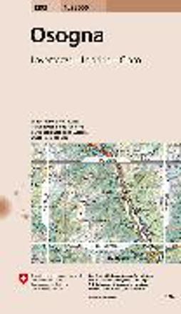 Bild zu Osogna. 1:25'000