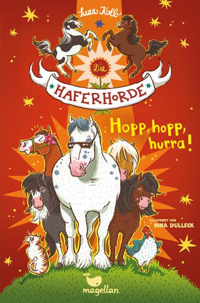 Bild zu Die Haferhorde - Hopp, hopp, hurra! von Kolb, Suza