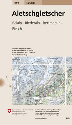 Bild zu Aletschgletscher. 1:25'000