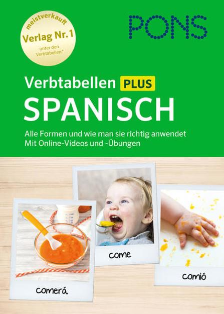 Bild zu PONS Verbtabellen Plus Spanisch