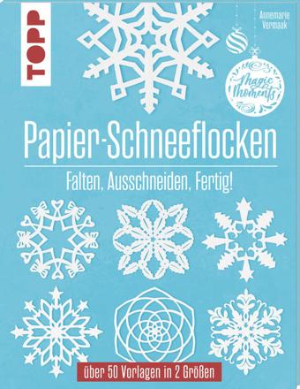Bild zu Papier-Schneeflocken von Vermaak, Annemarie