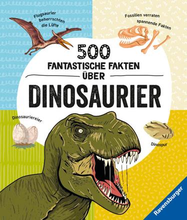 Bild zu 500 fantastische Fakten über Dinosaurier von Rooney, Anne