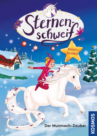 Bild zu Sternenschweif Adventskalender, Der Mutmach-Zauber von Chapman, Linda
