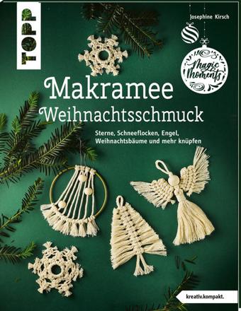 Bild zu Makramee-Weihnachtsschmuck (kreativ.kompakt) von Kirsch, Josephine