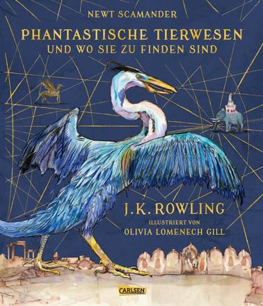 Bild zu Phantastische Tierwesen und wo sie zu finden sind (vierfarbig illustrierte Schmuckausgabe) von Rowling, J.K.