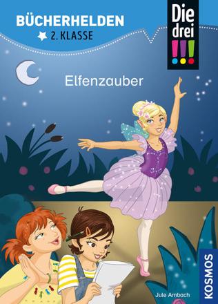 Bild zu Die drei !!!, Bücherhelden 2. Klasse, Elfenzauber von Ambach, Jule