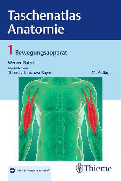 Bild zu Taschenatlas Anatomie, Band 1: Bewegungsapparat von Platzer, Werner