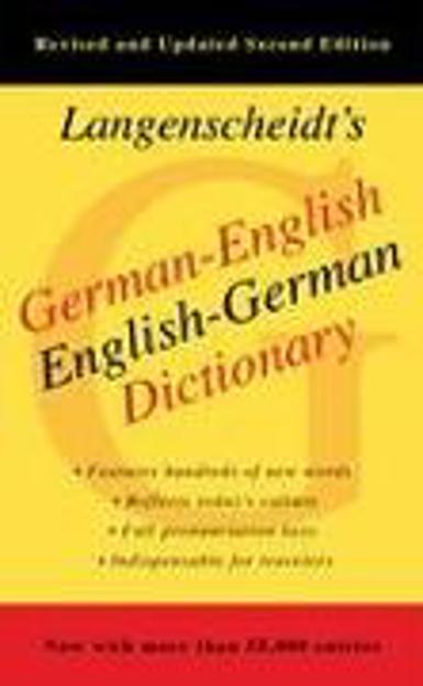 Bild zu German-English Dictionary, Second Edition von Langenscheidt