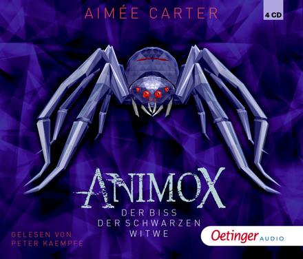 Bild zu Animox 4. Der Biss der Schwarzen Witwe von Carter, Aimée