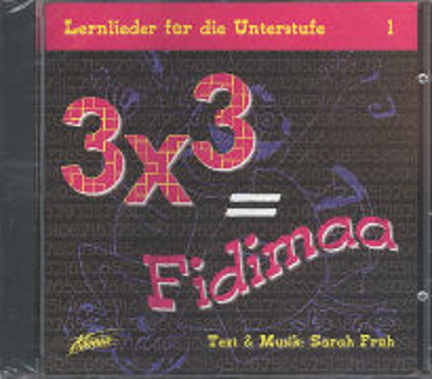 Bild zu 3 x 3 gleich Fidimaa 1. Lernlieder für die Unterstufe von Maurer-Früh, Sarah