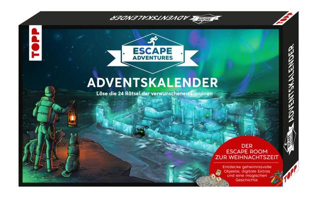Bild zu Adventskalender Escape Adventures - Die verwunschenen Eisruinen von Frenzel, Sebastian
