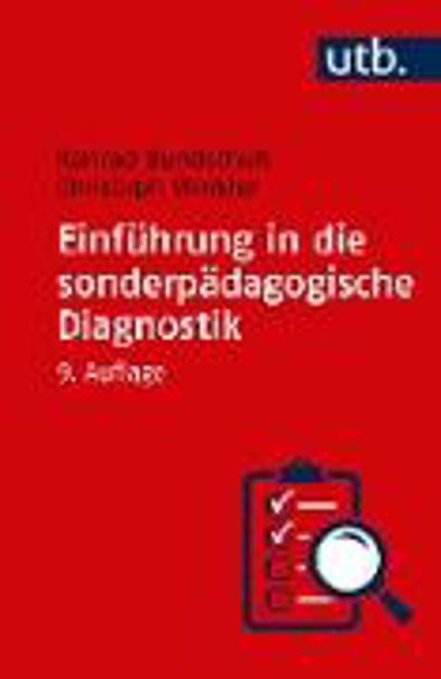 Bild zu Einführung in die sonderpädagogische Diagnostik von Bundschuh, Konrad