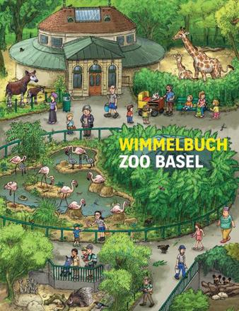Bild zu Wimmelbuch Zoo Basel von Brüchler, Mirco (Illustr.)