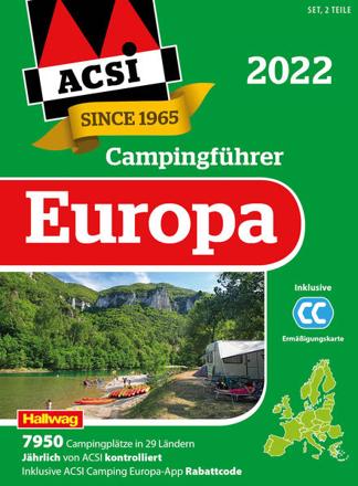 Bild zu ACSI Campingführer Europa 2022 von ACSI