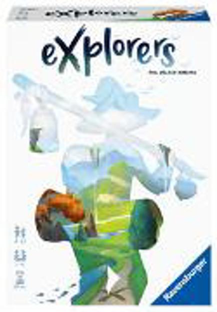 Bild zu Ravensburger 26982 - Explorers - Abwechslungsreiches Flip & Write Spiel für Erwachsene und Kinder ab 8 Jahren, für Spieleabende mit Freunden oder der Familie, für 1-4 Spieler von Walker-Harding, Phil