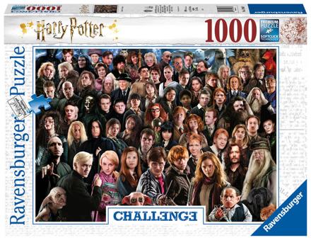 Bild zu Ravensburger Puzzle 1000 Teile Harry Potter - Über 70 Charaktere aus der zauberhaften Welt von Hogwarts auf einem Puzzle für Erwachsene und Kinder ab 14 Jahren
