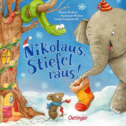Bild zu Nikolaus, Stiefel raus! von Weber, Susanne